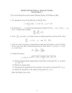 Module MA1132 (Frolov), Advanced Calculus Tutorial Sheet 5