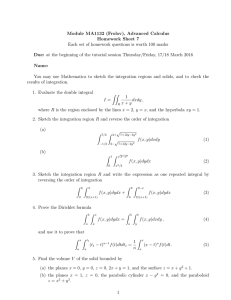 Module MA1132 (Frolov), Advanced Calculus Homework Sheet 7