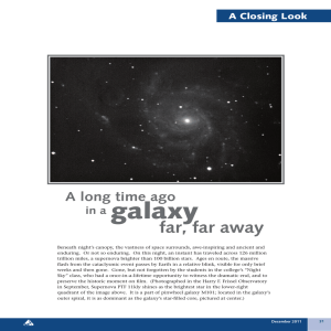 galaxy  far, far away A long time ago