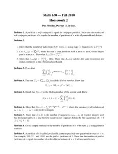 Math 630 — Fall 2010 Homework 2
