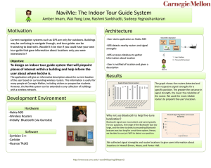 NaviMe: The Indoor Tour Guide System