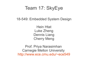 Team 17: SkyEye