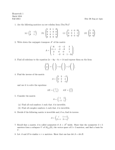 Homework 1 Math 5316 Fall 2013 Due 30 Aug at 4 pm