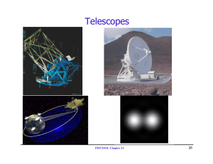 Telescopes PHY2054: Chapter 25 26
