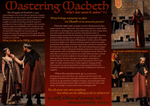 "Mastering Macbeth ""What's done cannot be undone"" V.i Death"