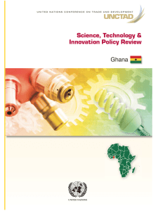 Science, Technology & Innovation Policy Review Ghana