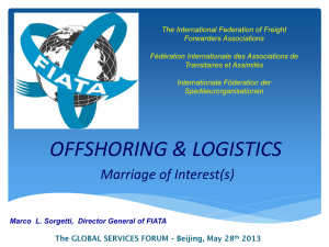 The International Federation of Freight Forwarders Associations  Fédération Internationale des Associations de