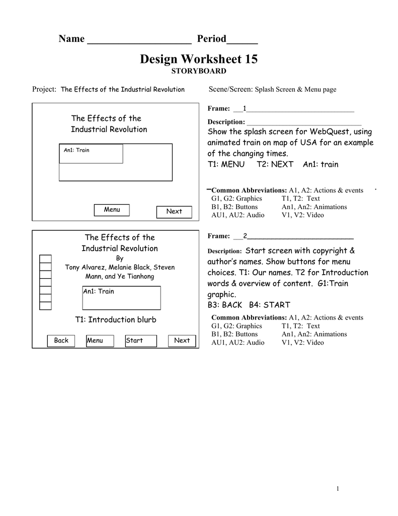 Design Worksheet 15 Name Period______ STORYBOARD on map key for first grade, map scale for 3rd grade, map paper, map skills, map of volcanic eruptions around the world, map handouts, map games, map ideas, map grid activity, map scaling, map forms, map of the five regions of georgia, map english, map vocabulary, map powerpoint, map math, map puzzles, map activity for students, map answers, map assessment,