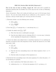 PHZ 3113, Section 3924, Fall 2013, Homework 1