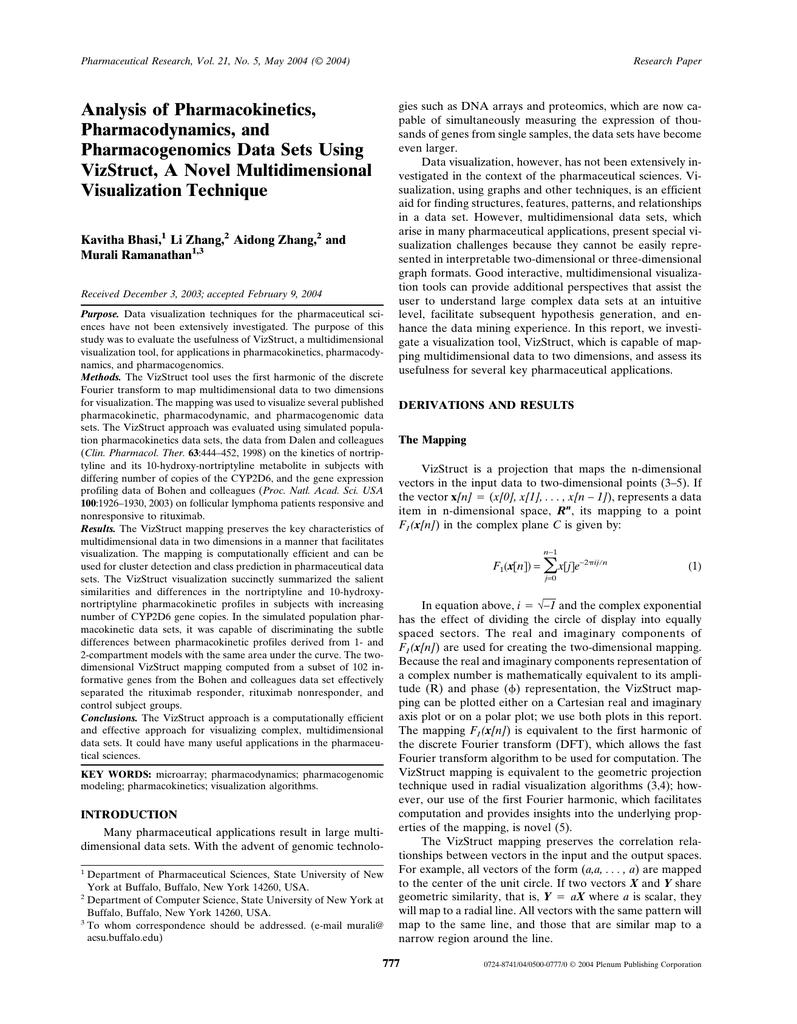 pharmacogenomics case study buffalo
