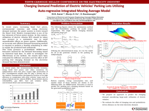 Charging Demand Prediction of Electric Vehicles' Parking Lots Utilizing
