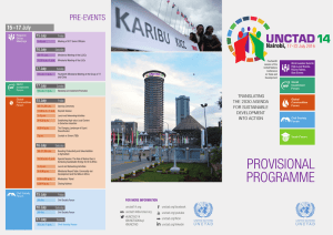 UNCTAD Pre-evenTs