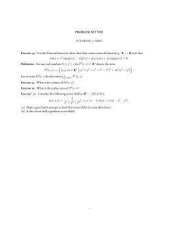 PROBLEM SET VIII g R such that (