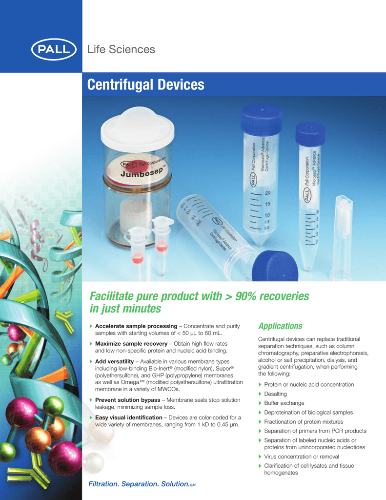 Pack of 24 Pore Size 0.2 /µm Pall MAPM02C67 Macrosep Advance Centrifugal Devices with Supor Membrane
