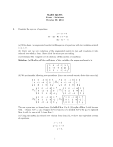 MATH 323.501 Exam 1 Solutions October 10, 2013 1.
