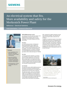 An electrical system that fits. More availability and safety for the