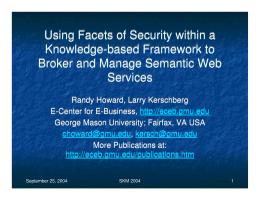 facets framework