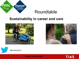 Welkom Roundtable  Sustainability in career and care