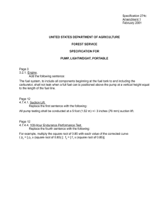 Specification 274c Amendment 1 February 2001 Page 3