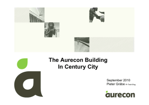 The Aurecon Building In Century City September 2010 Pieter Gräbe
