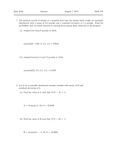 Quiz #16 Answers August 7, 2014 Math 141