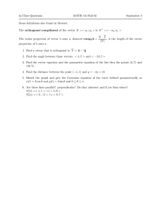 In Class Questions MATH 151-Fall 02 September 5