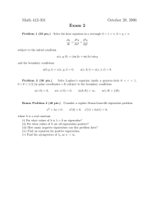 Math 412-501 October 20, 2006 Exam 2