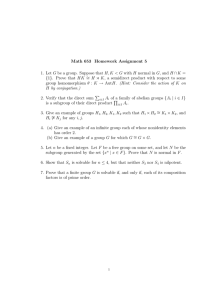 Math 653 Homework Assignment 5