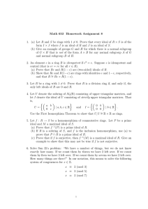Math 653 Homework Assignment 8