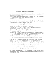 Math 653 Homework Assignment 9