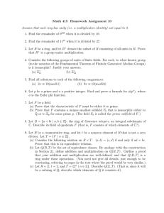 Math 415 Homework Assignment 10
