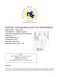 Activity: Cartography and Your Schoolyard