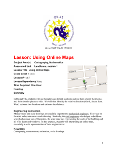Lesson: Using Online Maps