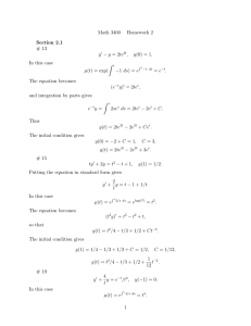 Math 3400 Homework 2 Section 2.1 # 13