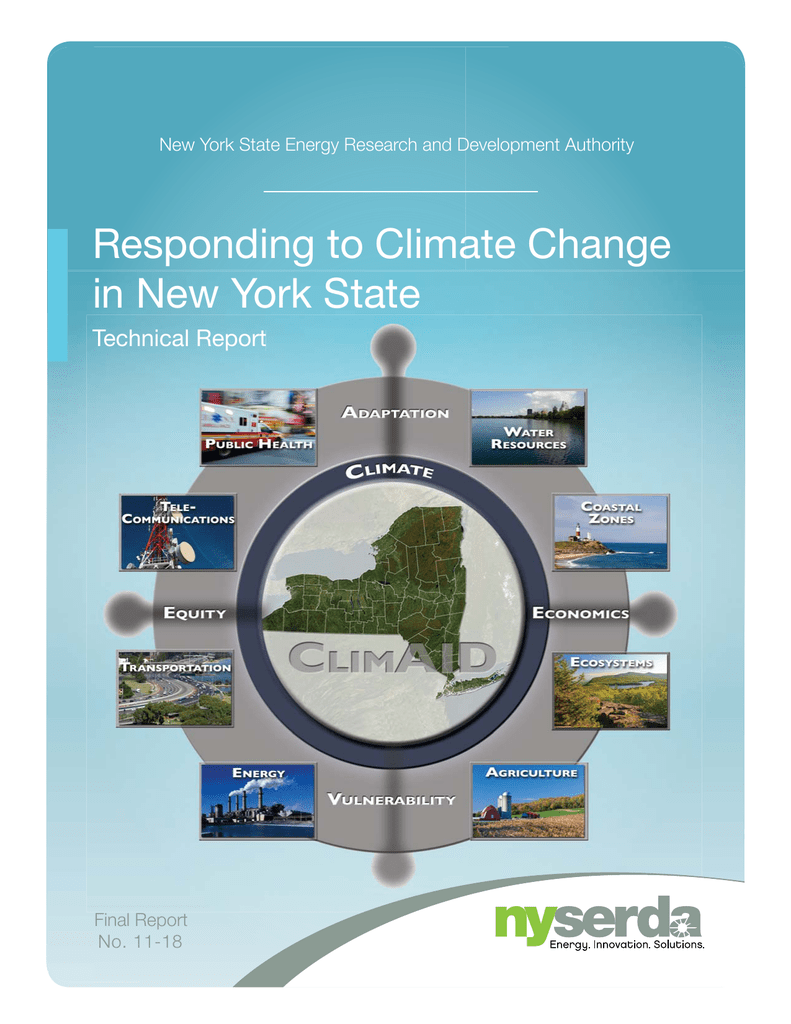 Responding to Climate Change in New York State T Technical