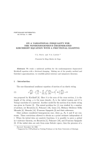 ON A VARIATIONAL INEQUALITY FOR THE NONHOMOGENEOUS DEGENERATED