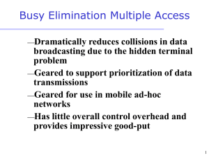 Busy Elimination Multiple Access