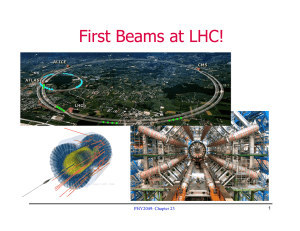 First Beams at LHC! PHY2049: Chapter 23 1
