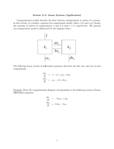 Section 11.2: Linear Systems (Applications)