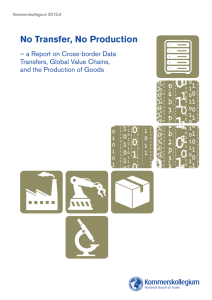 No Transfer, No Production – a Report on Cross-border Data