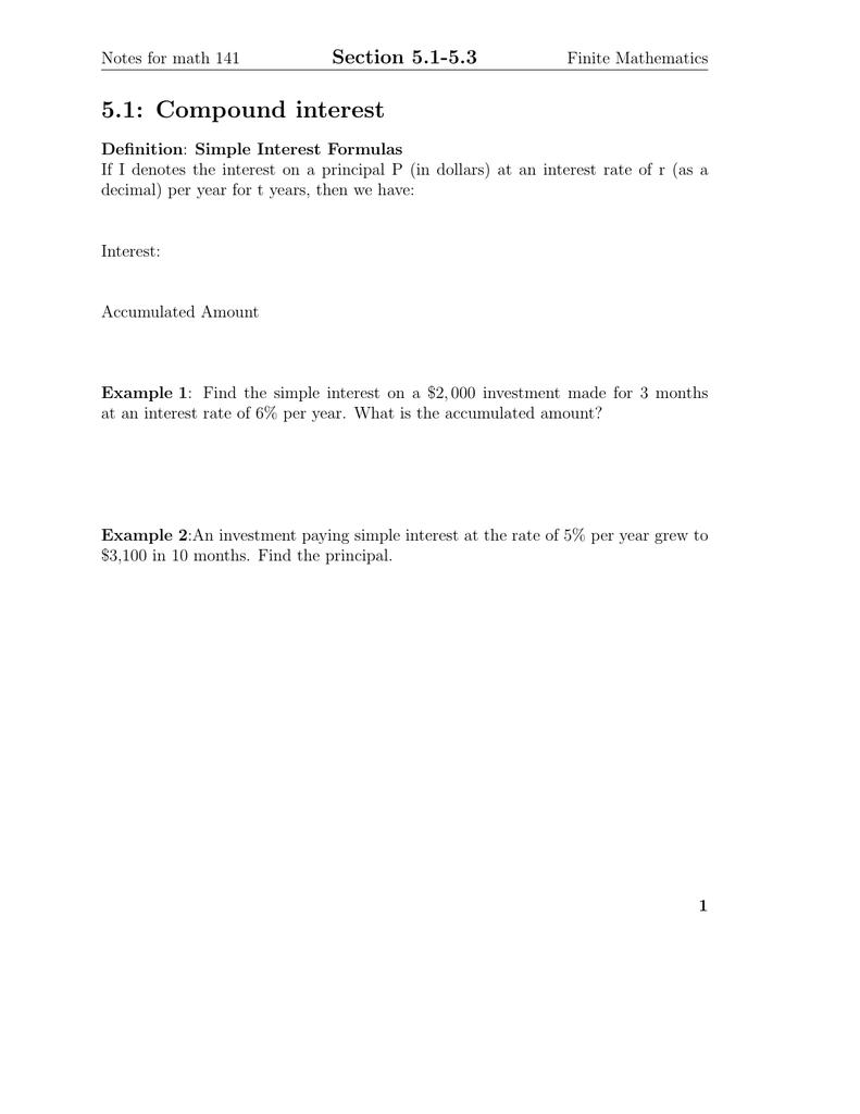 51 compound interest section 51 53