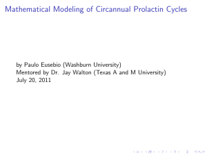 Mathematical Modeling of Circannual Prolactin Cycles