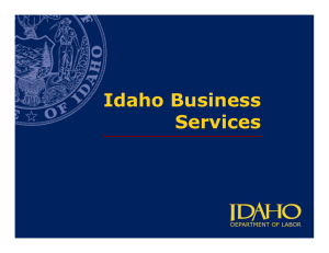 Idaho Business Services