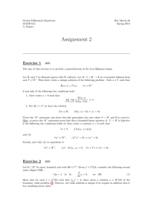 Assignement 2 Exercise 1