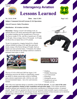 L d Lessons Learned Interagency Aviation