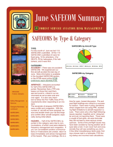 June SAFECOM Summary SAFECOMS by Type & Category