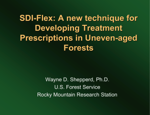 SDI - Flex: A new technique for Developing Treatment