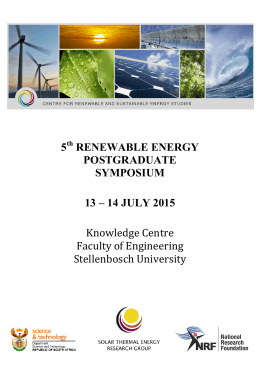 5 RENEWABLE ENERGY POSTGRADUATE