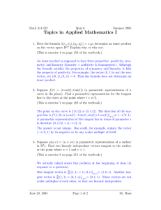 Topics in Applied Mathematics I