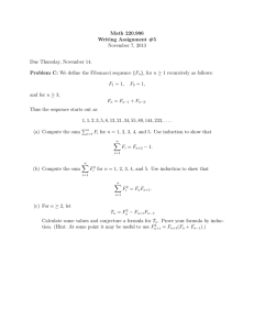 Math 220.906 Writing Assignment #5 November 7, 2013 Due Thursday, November 14.